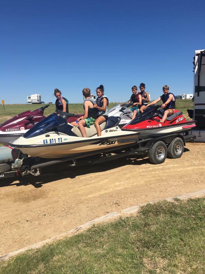 Horsethief Reservoir | Jetmore Kansas - boating, camping